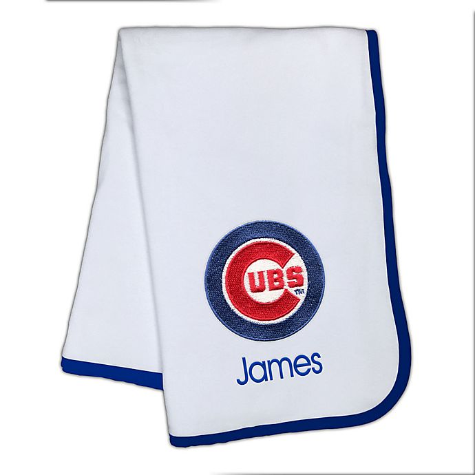 Alternate image 1 for Designs by Chad and Jake MLB Chicago Cubs Baby Blanket