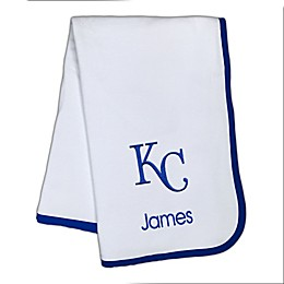 Designs by Chad and Jake MLB Kansas City Royals Baby Blanket