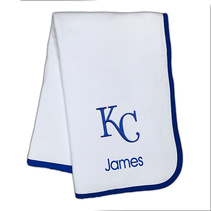 Alternate image 1 for Designs by Chad and Jake MLB Kansas City Royals Baby Blanket