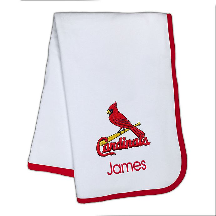 Alternate image 1 for Designs by Chad and Jake MLB St. Louis Cardinals Baby Blanket