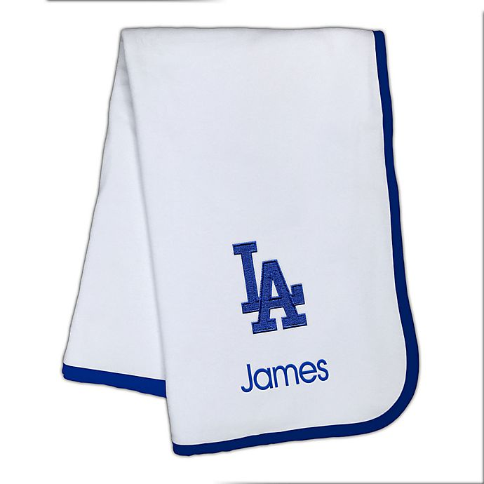 Alternate image 1 for Designs by Chad and Jake MLB Los Angeles Dodgers Baby Blanket