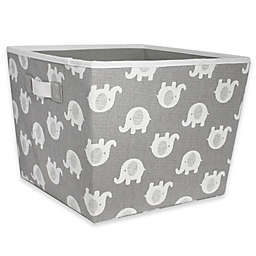 Taylor Madison Designs® Elle Storage Bin in Grey/White