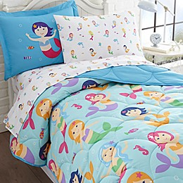 Olive Kids Mermaids 7-Piece Multicolor Full Comforter Set