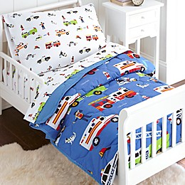 Olive Kids Heroes 4-Piece Toddler Bedding Set in Blue