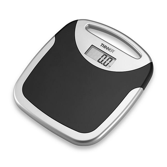 Conair 174 Thinner 174 Portable Digital Bathroom Scale Bed