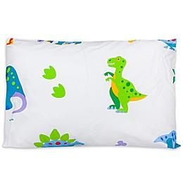 Olive Kids Dinosaur Land Multicolor Toddler Pillowcase