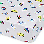 Olive Kids On the Go Multicolor Fitted Crib Sheet
