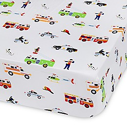 Olive Kids Heroes Multicolor Fitted Crib Sheet