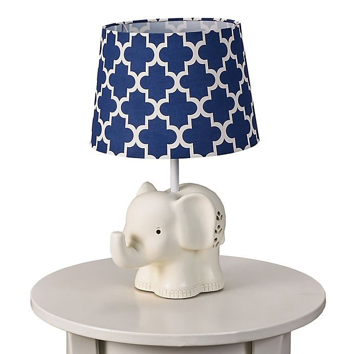 Living Textiles Elephant Lamp Base and Shade | buybuy BABY