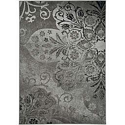Kevin O'Brien by Capel Rugs Cavalcade Venetian 3-Foot x 5-Foot 5-Inch Area Rug in Grey