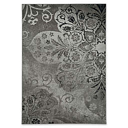 Kevin O'Brien by Capel Rugs Cavalcade Venetian 5-Foot 3-Inch x 7-Foot 6-Inch Area Rug in Grey