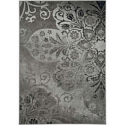 Kevin O'Brien by Capel Rugs Cavalcade Venetian 7-Foot 10-Inch x 10-Foot 10-Inch Area Rug in Grey