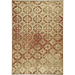 Capel Rugs Kevin O'Brien Cavalcade Constantinople 3-Foot 11-Inch x 5-Foot 5-Inch Accent Rug in Beige
