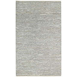 Capel Rugs Zions View 5-Foot x 8-Foot Area Rug in Silver/Grey
