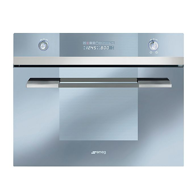 Alternate image 1 for Smeg Linea 24-Inch Built-In Combination Steam Oven in Stainless Steel