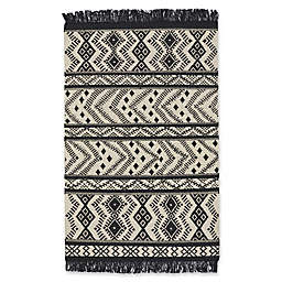 Capel Rugs Genevieve Gorder Abstract Rug in Black