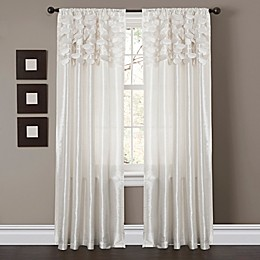 Circle Dream 84-Inch Rod Pocket Window Curtain Panel Pair