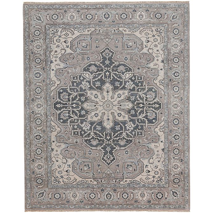 Alternate image 1 for Capel Rugs Biltmore Plant-Sirocco 7-Foot 6-Inch x 9-Foot x 6-Inch Area Rug in Grey