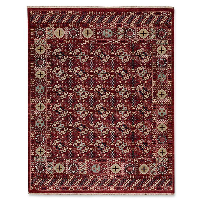 Alternate image 1 for Carpel Rugs Biltmore Plant Treasure 5-Foot 6-Inch x 8-Foot 6-Inch Area Rug in Red