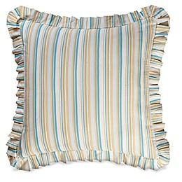Natural Shells European Pillow Sham in Blue/Beige
