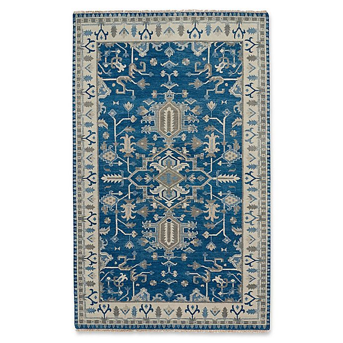 Alternate image 1 for Capel Rugs Inspirit Rug in Blue/Beige