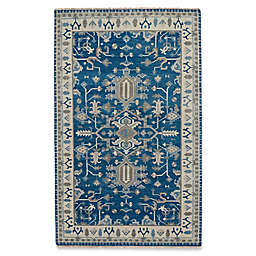 Capel Rugs Inspirit 5-Foot x 8-Foot Area Rug in Blue/Beige