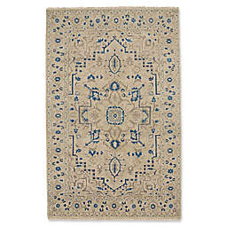 Capel Rugs Inspirit Rug in Beige/Blue