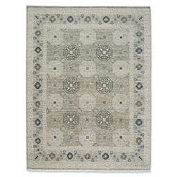 Capel Rugs Burmesse Tile Rug in Grey