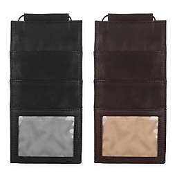 Piel Leather® Classic Hanging Travel Wallet
