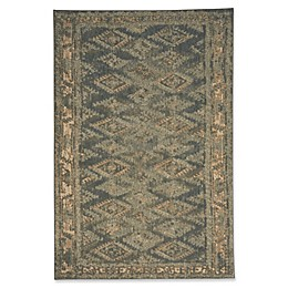 Capel Rugs Cedar Creek Aztec Indoor/Outdoor Rug in Green