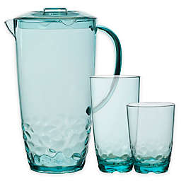 Pebbles Drinkware in Turquoise