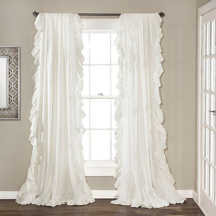 Alternate image 1 for Lush Décor Reyna Rod Pocket Window Curtain Panel Pair