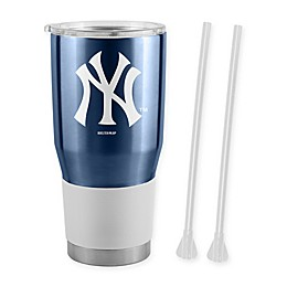 MLB New York Yankees 30 oz. Ultra Tumbler with Straws