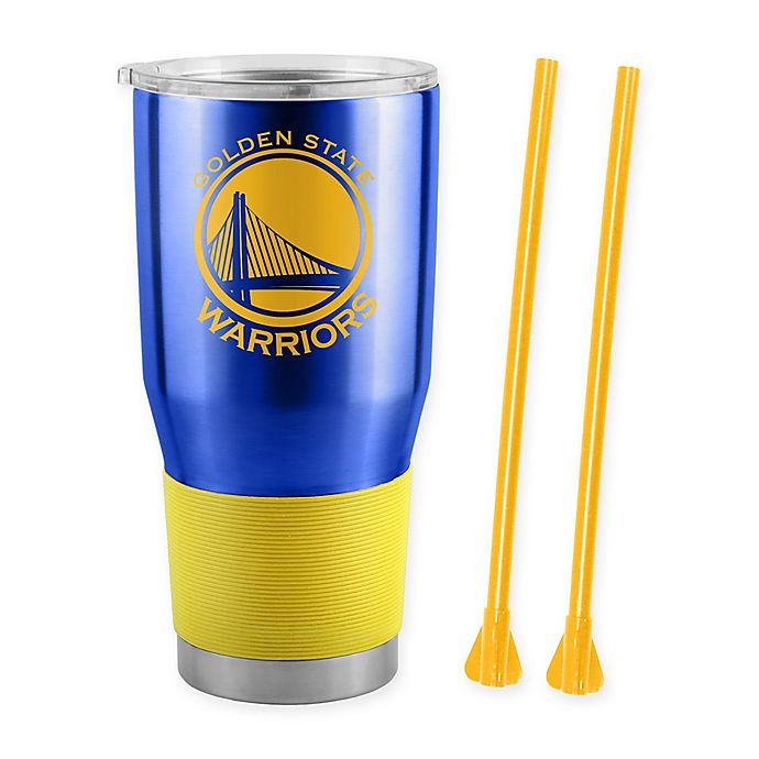 cef1d5756aa NBA Golden State Warriors 30 oz. Ultra Tumbler with Straws | Bed ...