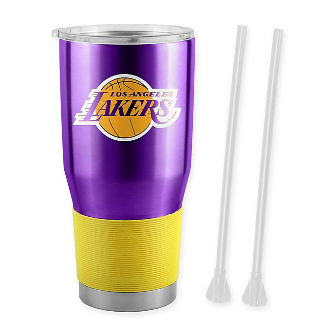 Los Angeles Lakers Travel Tumbler 20oz Ultra New Nba Cup Mug Coffee Sports Mem Cards Fan Shop Basketball Nba Dr Lindner Ipn Co Il