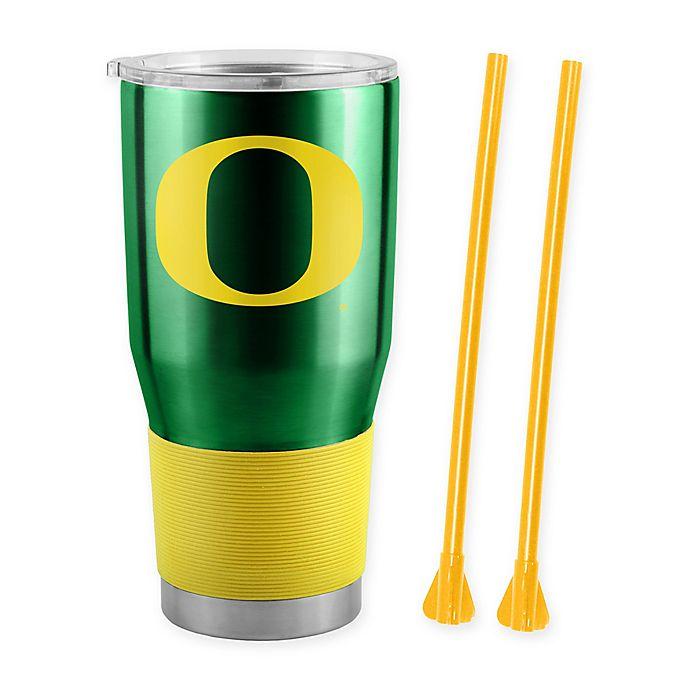 Alternate image 1 for University of Oregon 30 oz. Stainless Steel Ultra Tumbler