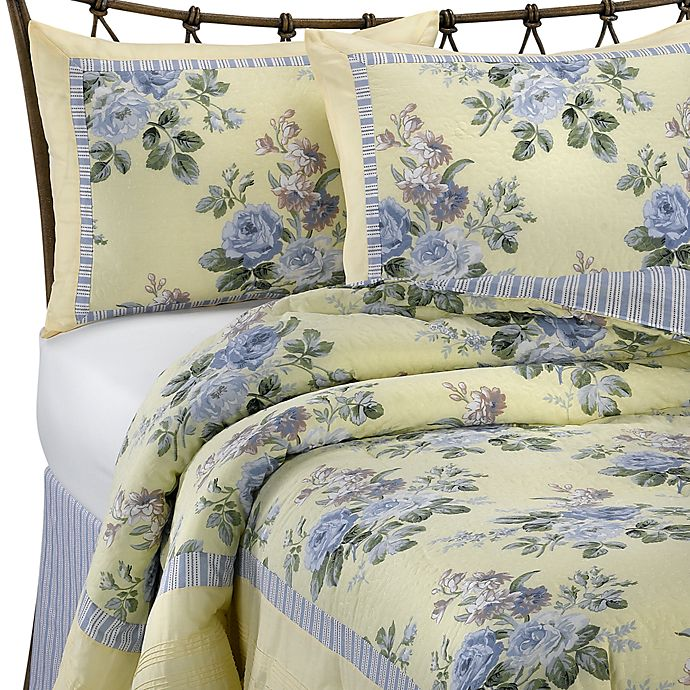 Ine Queen Comforter Set Bed Bath, Laura Ashley Bedding Blue And Yellow