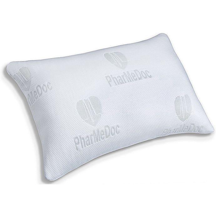 Alternate image 1 for PharMeDoc® Shredded Memory Foam Pillow