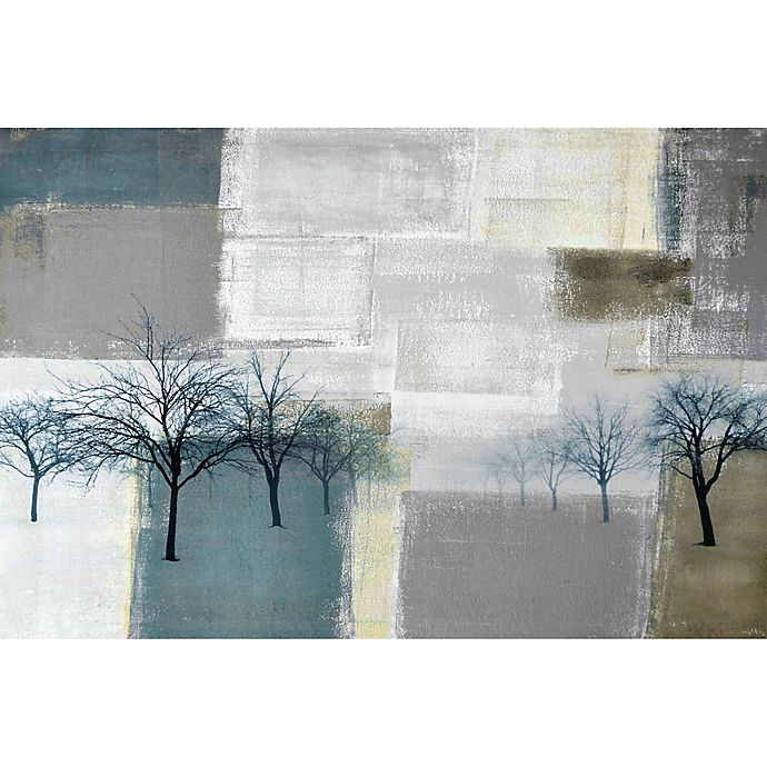 Alternate image 1 for Parvez Taj Blue Trees 36-Inch x 24-Inch Canvas Wall Art