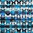 Part of the Parvez Taj Moth Blue Pinewood Wall Art