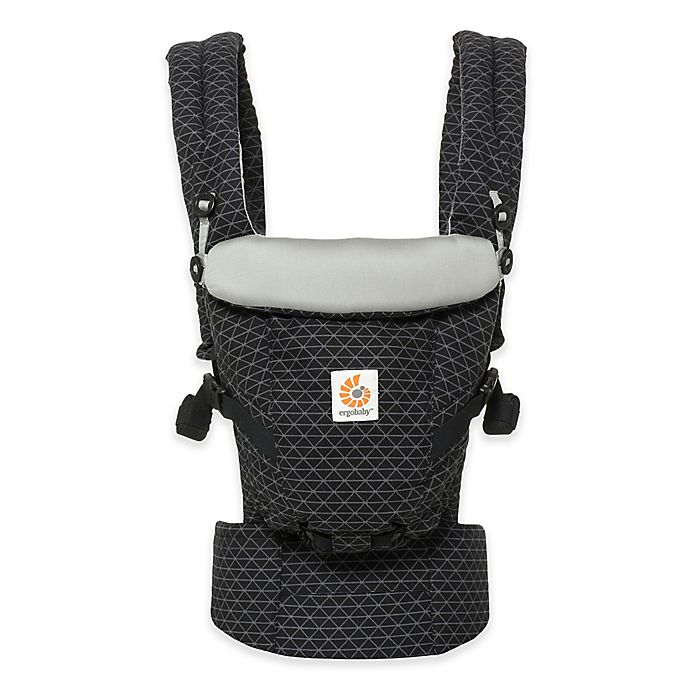 Alternate image 1 for Ergobaby™ ADAPT 3-Position Baby Carrier in Geo Black/White