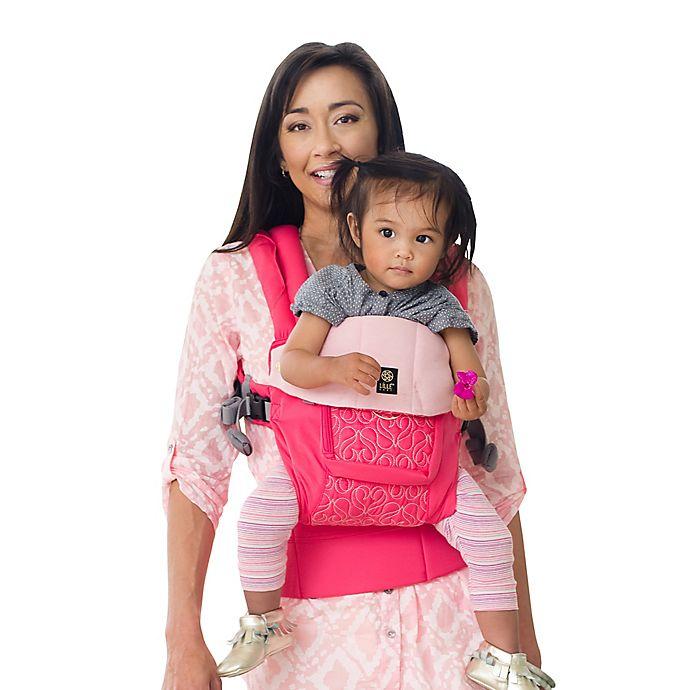 Alternate image 1 for Líllébaby® Complete™ Embossed Luxe Baby Carrier in Pink