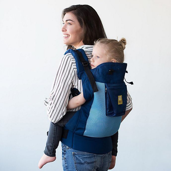 Alternate image 1 for Líllébaby® Carryon Airflow Toddler Carrier in Blue Aqua