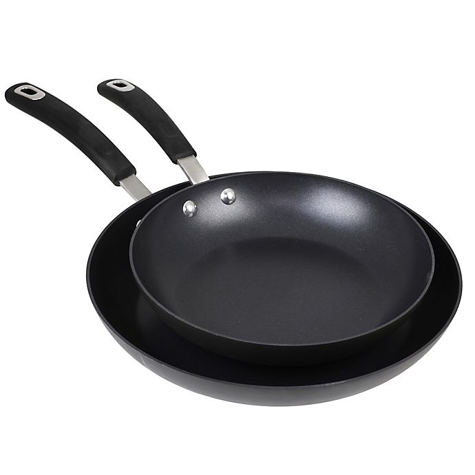 Alternate image 1 for Oneida® Prime Hard Anodized Nonstick 10-Inch and 12-Inch Fry Pan Set