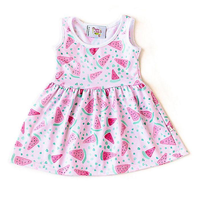Alternate image 1 for Pickles N' Roses™ Watermelon Day Dress