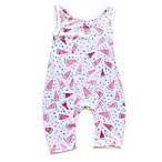 Pickles N' Roses™ Size 0-6M Watermelon Sleeveless Knit Coverall