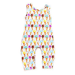 Pickles N' Roses™ Ice Cream Cone Sleeveless Knit Coverall