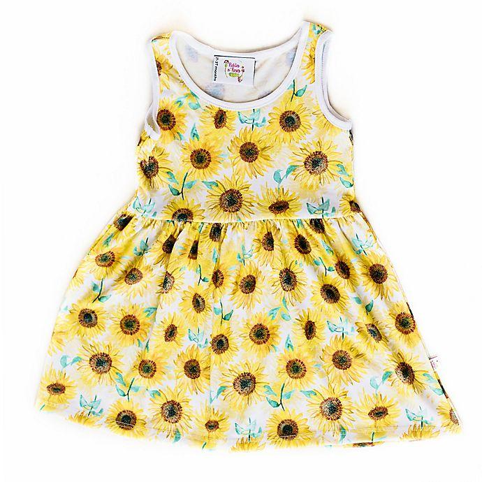 Alternate image 1 for Pickles N' Roses™ Sunflower Day Dress