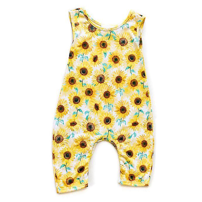 Alternate image 1 for Pickles N' Roses™ Sunflower Sleeveless Knit Coverall