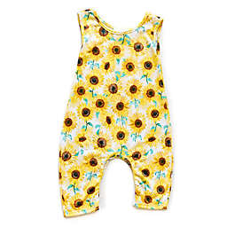 Pickles N' Roses™ Sunflower Sleeveless Knit Coverall